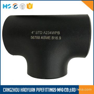 "4""STD A234WPB Carbon Steel Tee"