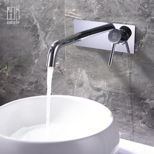 Wall Mount Pure Brass Basin Faucet