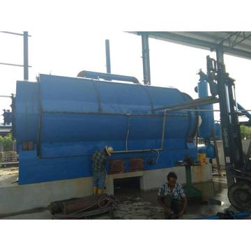 waste plastics recycle to energy pyrolysis machine