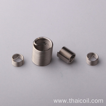 Coated thread insert carbon steel