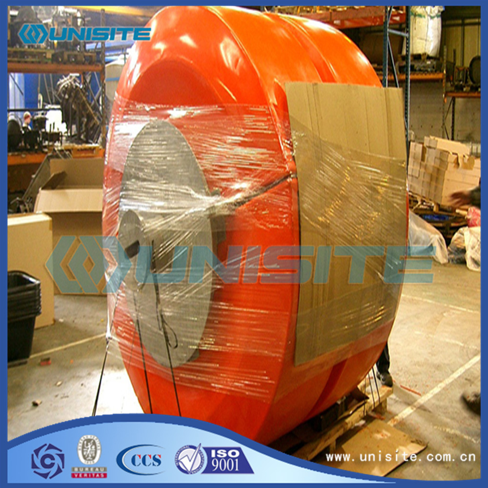 Marine floating steel buoy