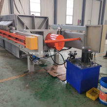 Automatic Hydraulic Paper Industry Cast Iron Filter Press