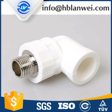 Low Cost for PPR Pipe Fittings HIGH QUALITY HOT AND COLD WATER PPR PIPE FITTINGS supply to French Polynesia Factory