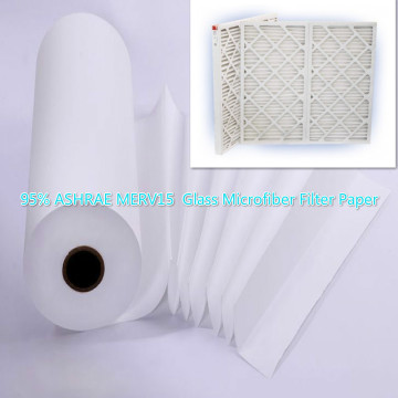 Polyester and Fiberglass Air Filters Media