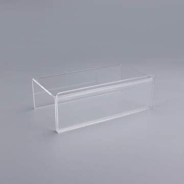 Small Acrylic Cube Card Holder Stand