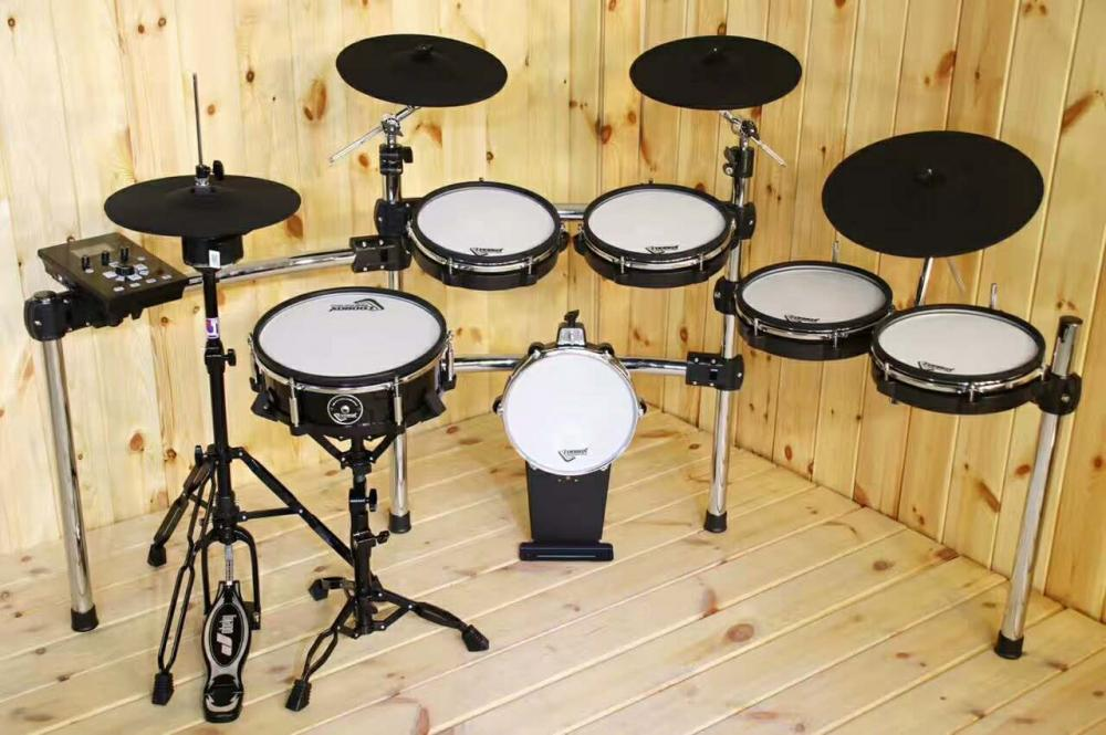 6 Pieces  Electronic Drum Jazz Drum Set