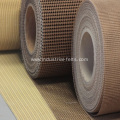 High density industrial fiber-glass mesh belt
