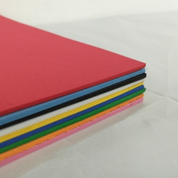 Colorful EVA Soft Foam None Smell Foam Sheet