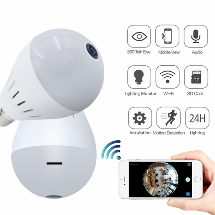 Light Bulb Wifi Camera