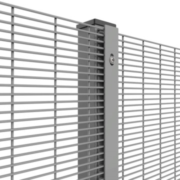 358 Anti-climb Fence Panels with Posts