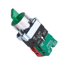 Low price for Waterproof Push Button Switch XB2-BK Select Switch with LED Indicator export to Mexico Exporter