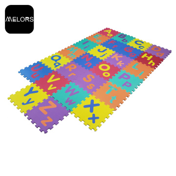 EVA interlocking Capital&Lower Case Alphabets Puzzle Mat