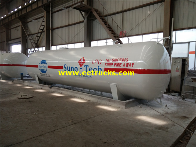 9000 Gallons 15ton Domestic Propane Gas Tanks
