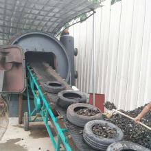 Waste Tyre to Fuel Oil Recycling Plant