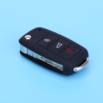 Silicone key cover for VW cars