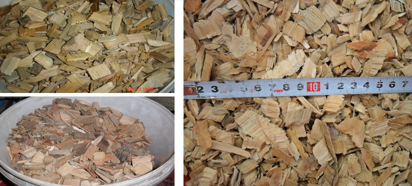 wood chipper shredder material