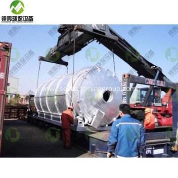 Waste Tire Pyrolysis Carbon Black Plant