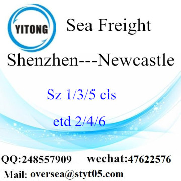 Shenzhen Port LCL Consolidation To Newcastle