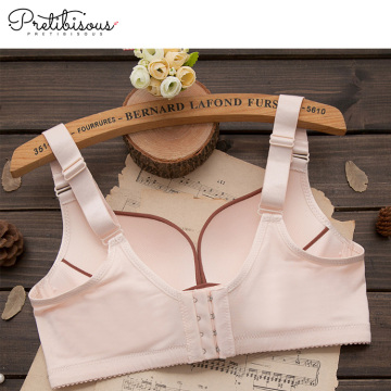 Comfortable cotton wireless nursing bra soft maternity bra