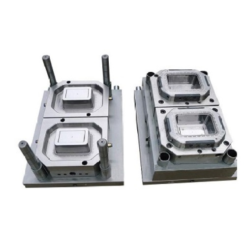 Plastic thin- wall food container injection mould