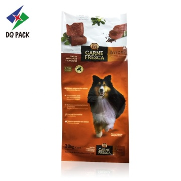 20KG PET food packaging bag side gusset bag