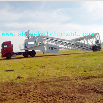 75 Mobile Concrete Mixer Equipment