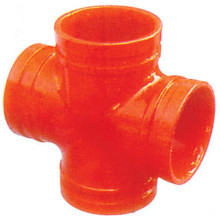 Bottom price for Ductile Iron Casting Fittings FM/UL Approved Ductile Iron Grooved Fitting Reducing Cross supply to Lao People's Democratic Republic Manufacturer