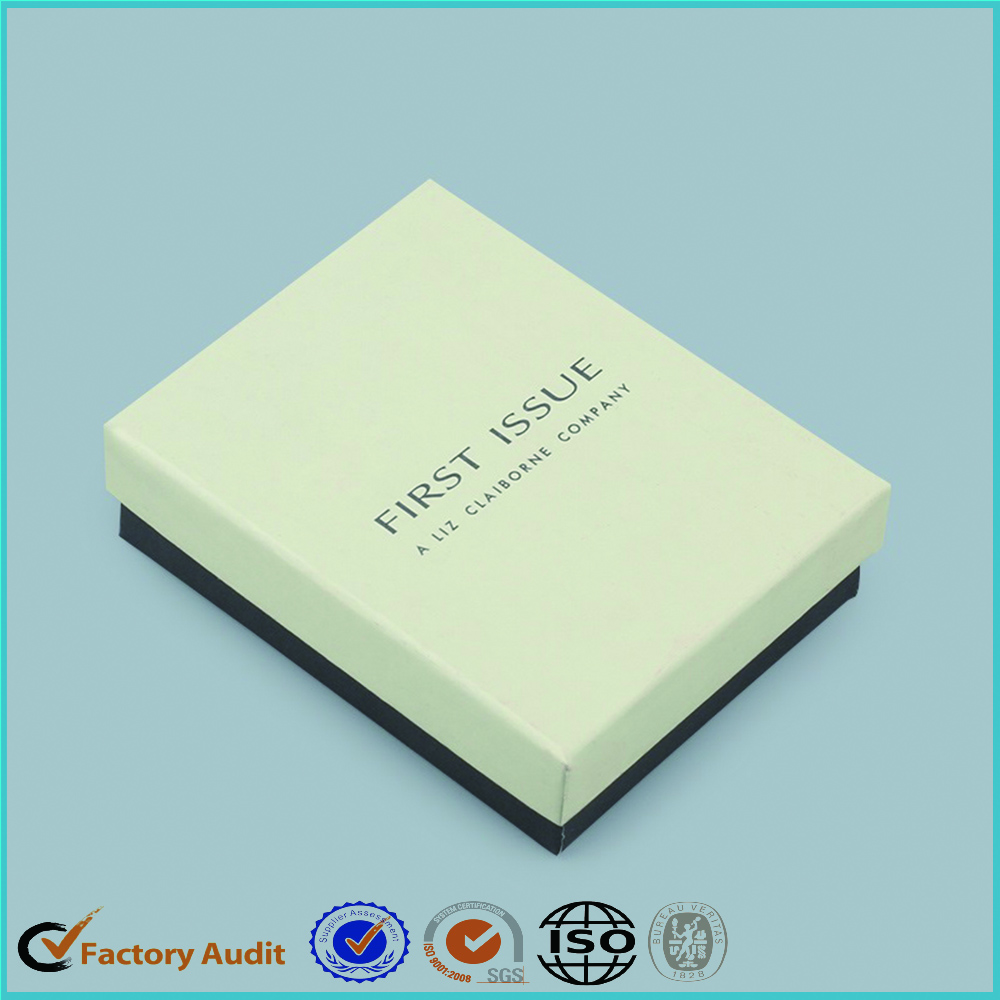Custom White Jewellery Paper Box Packaging