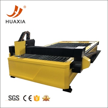 CNC table plasma cutter for sale on steel