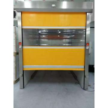 Automatic Anti-static PVC high speed shutter door
