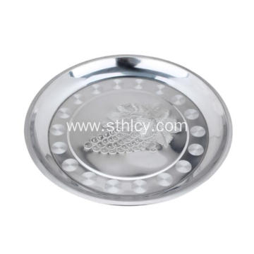 Restaurant Quality Stainless Steel Cookware Fruit Plates