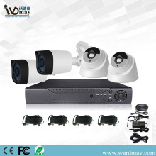 4ch 2.0MP Starlight CCTV DVR System Kits