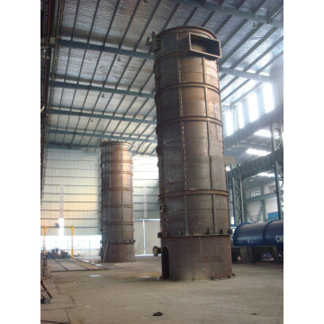 Vertical Gas/Oil Fired Hot Oil Boiler