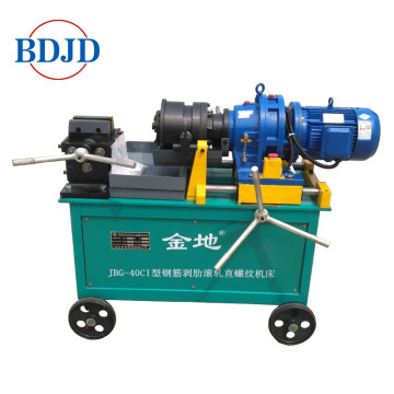 Rebar thread rolling machine for diameter 16-40mm