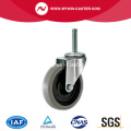 4'' Thread Stem TPR Light Duty Industrial Caster