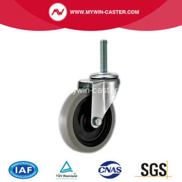 5'' Thread Stem TPR Light Duty Industrial Caster