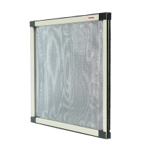 retractable insect fly screen for window