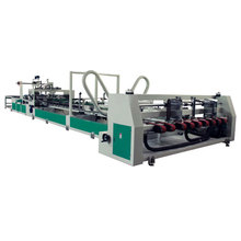 full automatic carton box folder gluer machine