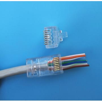 Venda quente 1.2 MM EZ Cat6A conector utp