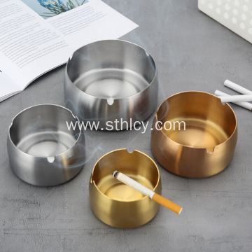 Stainless Steel Ashtray Metal Creative Increasing Number