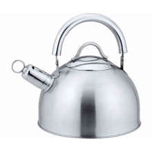 Movable steel handle tea pot