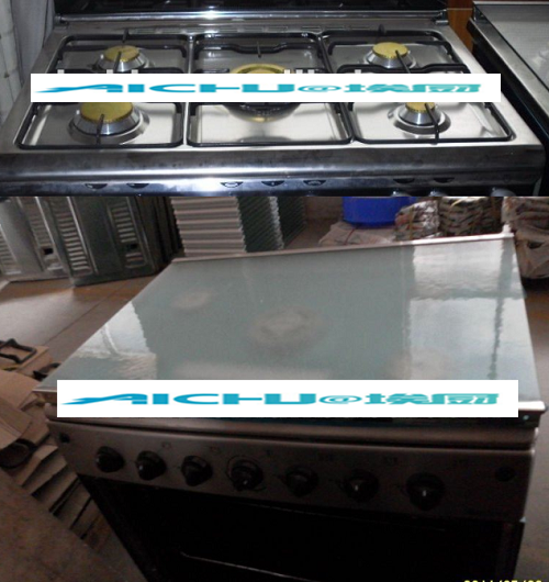 Kitchen Stainless Steel Gas Oven