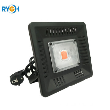 High Power COB Lens 50W LED Grow Lampu