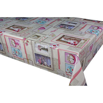 Pvc Printed fitted table covers Kmart