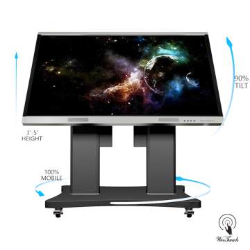 86 Flat Multi-touch Board Cheap With Automatic Stand