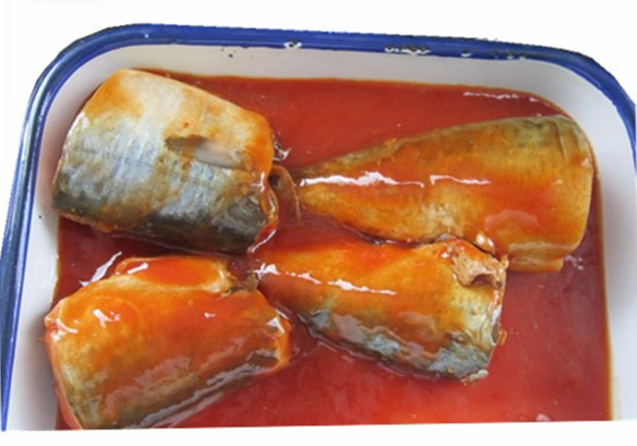 Natural Flavor Canned Mackerel