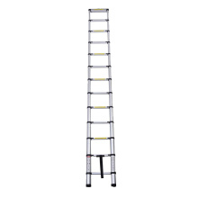 Single sided telescopic aluminum ladder