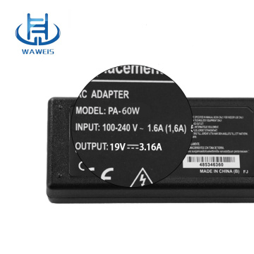 19v 3.16a adapter Acer laptop charger