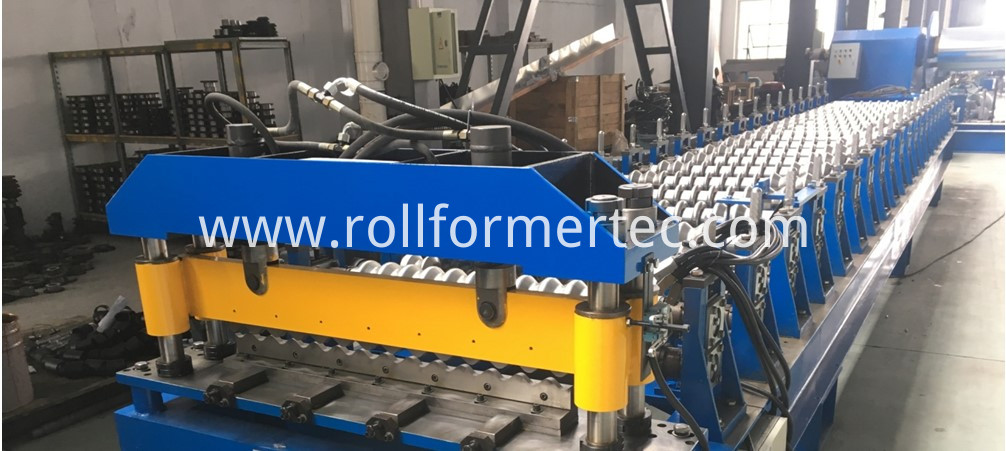 High speed roofing sheet rollformer 6