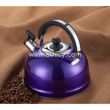Stainless Steel Colours Flat Bottomed Kettle​